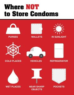If you've ever had a condom break, it's probably because it was stored incorrectly, expired, or put on wrong.
