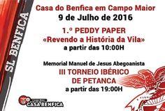 Campomaiornews: 1.º Peddy Paper e III Torneio Ibérico de Petanca d...