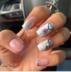 Butterfly Nail Art, Manicure, Nails, Nail Bar, Nail Colors, Thalia, Beauty, Spa, Instagram