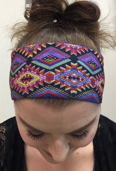 A personal favorite from my Etsy shop https://www.etsy.com/listing/197127345/yoga-headband-fashion-headband-workout