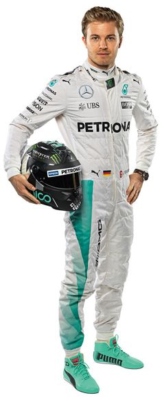 F1 2016 Driver - Nico Rosberg wall graphic
