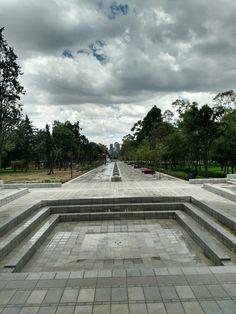 Fuente de remate visual en la segunda sección del bosque de chapultepec