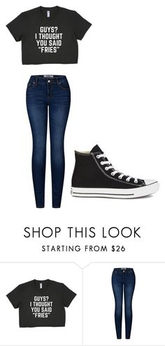 """""""Untitled #210"""" by cruciangyul on Polyvore featuring 2LUV and Converse"""