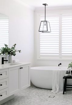 Renovating your bathroom on a tight budget is easier than you think. Here's where you should splurge and where you can save. Bathroom Renos, Laundry In Bathroom, Bathroom Renovations, Bathroom Ideas, Decorating Bathrooms, Bathroom Images, Bathroom Inspo, Budget Bathroom, Simple Bathroom