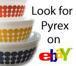 Butterprint Turquoise Cinderella Mixing Bowls : Pyrex Love