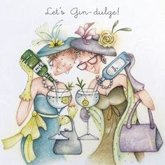 Fun Greeting Cards for all occasions - Birthday Cards, Wedding Cards, Anniversary Cards, Romantic Cards, Girly Cards. Happy Birthday Funny, Happy Birthday Cards, Birthday Greetings, Birthday Wishes, Gin Quotes, Old Lady Humor, Romantic Cards, Crazy Friends, Art Impressions
