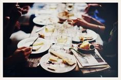 dinner with friends | holybelly, paris via vogue fr