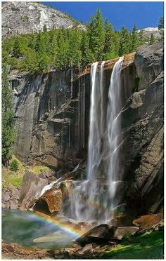 Vernal Fall, Yosemite National Park, California