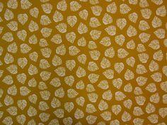Fallen Leaves Mustard B85