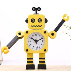 We love it and we know you also love it as well Animation Robot Alarm Clock 17*11CM Metal Deformation Alarm Clock Embellishment Living Room & Bedroom Alarm Clock just only $18.39 with free shipping worldwide  #clocks Plese click on picture to see our special price for you