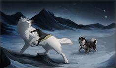 Artemis' Rite of Fortitude Fantasy Wolf, Fantasy Art, Wolf Rider, Amazing Beasts, Cartoon Wolf, Wolf Character, Big Cats Art, Beast Creature, Dire Wolf