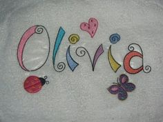 Bunnycup Embroidery | Whimsy Alphabet Capital Letters