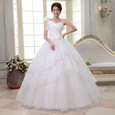 Find More Wedding Dresses Information about 2015 new hot sale Sleeveless simple backless elegant  beach sweetheart   lace plus size whitewedding dress strapless,High Quality lace silk dress,China lace carpet Suppliers, Cheap dress business from Playful beauty department store on Aliexpress.com