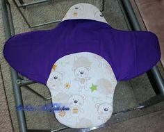 Baby-Einschlagsdecke (Vorne)