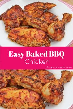 Easy Baked BBQ Chicken Recipe- Homemade | Tender, Juicy & Flavorful! 😋 😋 😋 😋 😋 😋 😋 🍗 🍗 🍗 🍗 🍗 🍗 🍗 🍗 🍗 🍗  #bakedchicken #BBQ #dinner #tender #grandma'srecipe