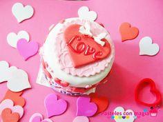 love cake tarta romantica  tarta san valentin