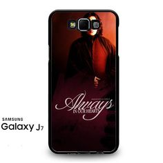 Severus Snape Always In Our Hearts Samsung Galaxy J7 Prime Case
