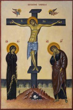 Rastignirea Domnului Medieval, Church Interior, Byzantine Icons, Religious Images, Orthodox Icons, My Prayer, Sacred Art, Christian Art, Jesus Christ