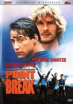 Patrick Swayze & Keanu Reeves in Point Break