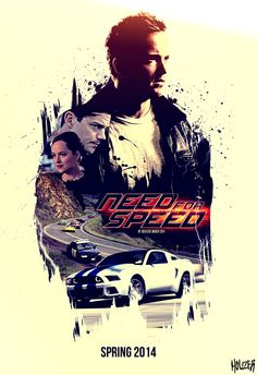 Need for Speed by John 'Houzer' Smith Movies 2014, Good Movies, Nfs Movie, Last Night Movie, Need For Speed Movie, Superhero Poster, Minimal Poster, Movie Wallpapers, The Fault In Our Stars