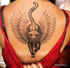 "Explore creative board ""Egyptian Tattoos"" on creativetatto. See more ideas about Egyptian tattoo, Tattoos and Egypt tattoo. Egyptian Cat Tattoos, Egyptian Tattoo Sleeve, Egyptian Cats, Egyptian Goddess Tattoo, Dope Tattoos, Body Art Tattoos, Girl Tattoos, Sleeve Tattoos, Tatoos"