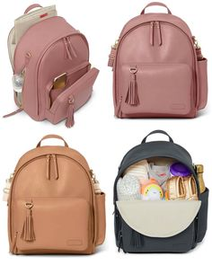 Offering laid back luxury for the effortlessly chic mama, our Greenwich Diaper Backpack is made of durable, wipe-clean vegan leather. Nappy Backpack, Nappy Bags, Changing Pad, Vegan Leather, Cleaning Wipes, Baby Strollers, Maternity, Backpacks, Luxury
