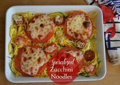 Spiralizer Zucchini Noodles Meatless Monday - Green With Renvy | Green With Renvy