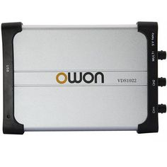 OWON VDS1022 Digital 2 x 25MHz 100MS/s PC USB Million Oscilloscope MIT Isolation 2+1 Channel Memory Depth 5K