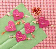 Sweet little Pixie Stick Hearts