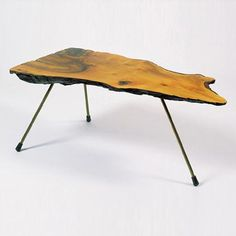 Carl Auböck, Tree Table, ca. Tree Table, Steel Rod, Table Desk, Modern Classic, Creative Design, Cool Designs, Projects To Try, Mid Century, Rustic