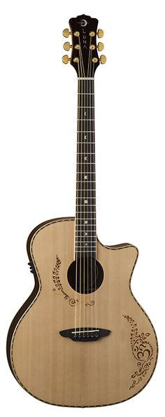 Guitar Girl Magazine » Vicki Genfan Signature Guitar by Luna Guitars
