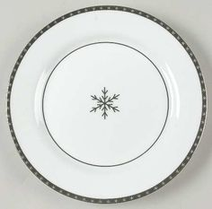 Accent plate to my china, Lenox Federal Platinum