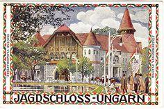 Hans Kalmsteiner Postcard- Jagd Ausstellung Wein 1910, Wiener Werkstätte