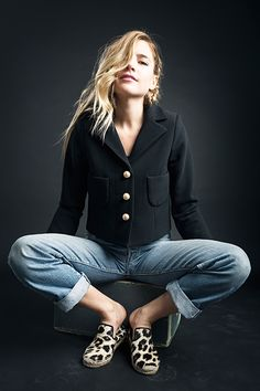 Box Jacket in Black