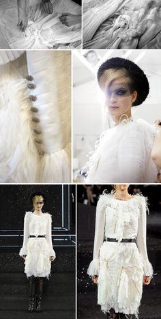 Haute Couture behind the scenes - pleated silk dress folded, draped  pinned - fashion in the making; fashion atelier; fashion design; dressmaking // Chanel
