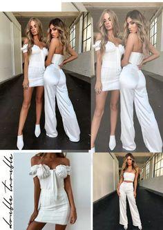 tinute de club albe Bridesmaid Dresses, Wedding Dresses, White Dress, Outfit, Fashion, Tall Clothing, Moda, Bridal Dresses