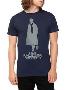 Sherlock High Functioning Sociopath T-Shirt Size : X-Large Hot Topic http://www.amazon.com/dp/B00OLIZXR2/ref=cm_sw_r_pi_dp_mnWPvb11TZPE8
