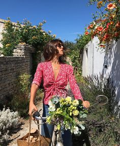 """7,980 Likes, 56 Comments - Rouje By Jeanne Damas (@rouje) on Instagram: """"The YASMINE blouse is BACK on the eshop now www.rouje.com """""""