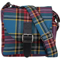 Tartan Across-the-Body Bag made in Scotland |500 Scottish tartans