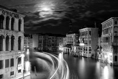 See a magical Moonlight over Venice photograph by Floriana Barbu on Pintertest
