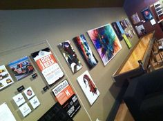 Tweaking your visual world...  Stop in at Public Craft Brewing to see some excellent photo/litho/typo graphic works by 4 senior graphic design majors from Carthage College. They're ALREADY creating the world around you. (Kind of like The Matrix.)