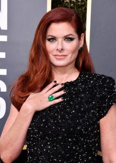 Golden Globes 2018 - Emerald - Debra Messing