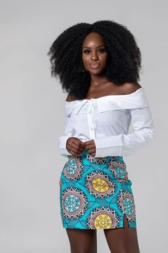 Who would have thought that African print clothes would look this good? Check out this unique selection from the best African fashion designers. From ankara Dutch wax, Kente, to Kitenge and Dashiki. African Print Skirt, African Print Clothing, African Print Dresses, African Dresses For Women, African Print Fashion, African Attire, African Fabric, African Prints, African Women Fashion