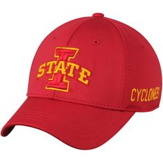 brand new ce3a9 5a0e8 Men s Top of the World Cardinal Iowa State Cyclones Choice Flex Hat
