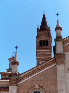 Trezzo d'Adda (Milan): Detail of the Church of the saints Gervaso and Protaso