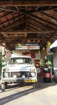 Garage Niva Lada / Chevrolet / Texaco