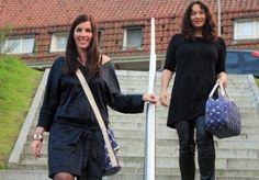 ONKJA tassen gedragen door Jeannette en Wilma van Awearness Fashion www.onkja.com
