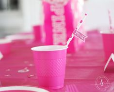 Tween VS PINK girl birthday theme for birthday. Pink party featuring favors, cupcakes and lots of PINK decor Birthday Themes For Adults, Girl Birthday Themes, Birthday Party For Teens, Pink Birthday, 13th Birthday, Teen Birthday, Birthday Ideas, Teenager Birthday, Birthday Nails