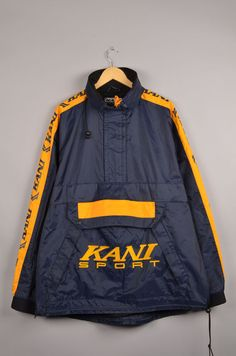 karl kani vintage karl kani hip hop jacket 90s by getfittedvintage