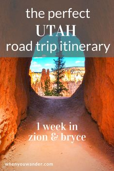 Zion and Bryce Canyon National Parks are such remarkable places that everyone should visit at least once. Find out what to do, where to stay, and where to eat with this perfect Utah road trip itinerary for Zion and Bryce Canyon. #traveltips #itinerary #nationalpark #zion #bryce #utah